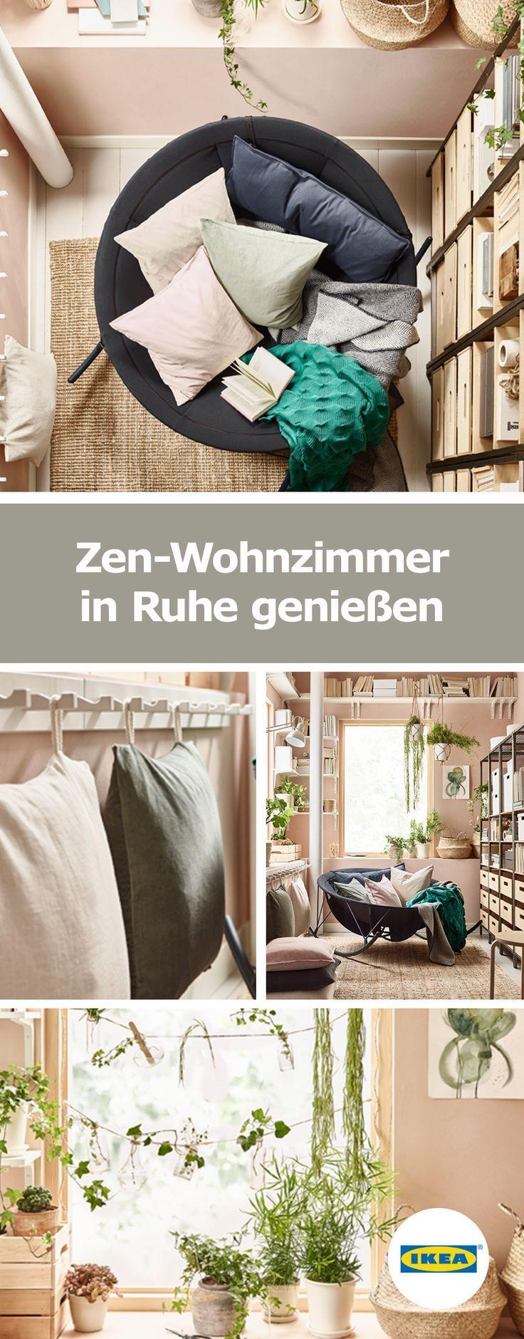 Ikea Deutschland Zen Wohnzimmer In Ruhe Geniessen Yoga