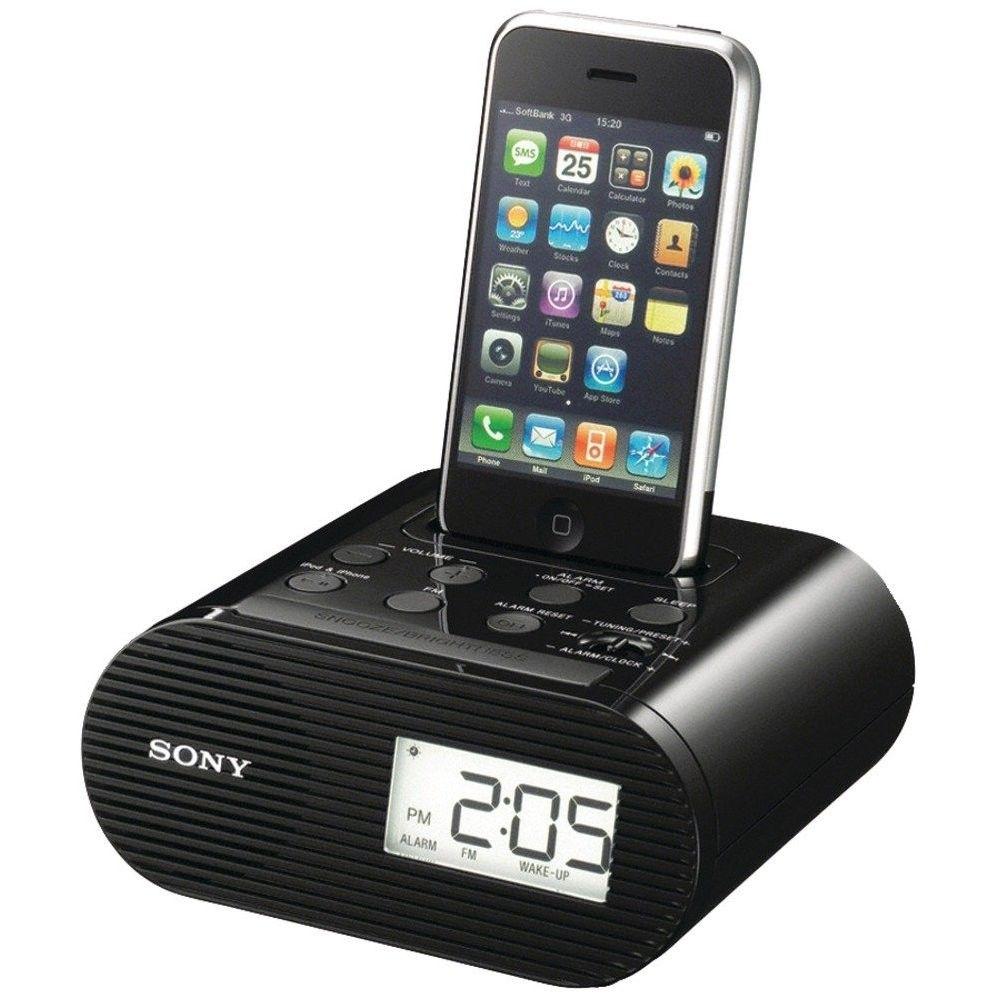 Iphone Clock Ipod Dock