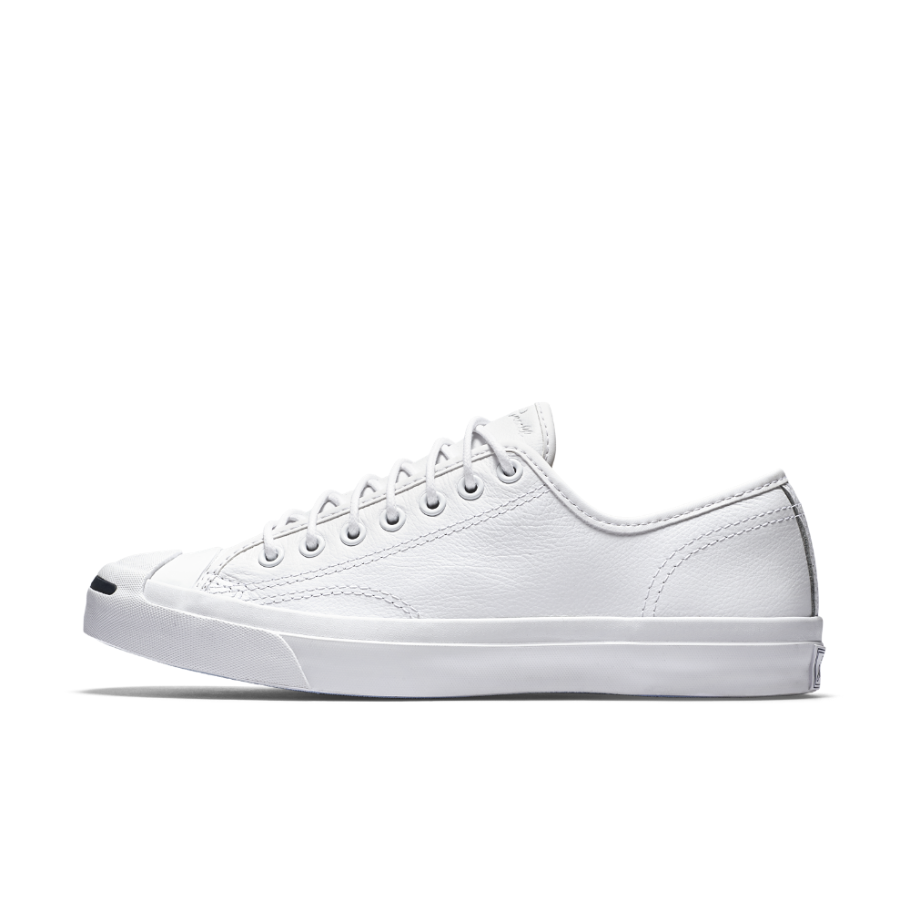f8ba6b466e8 Converse Jack Purcell Tumbled Leather Low Top Shoe Size 11.5 (White ...