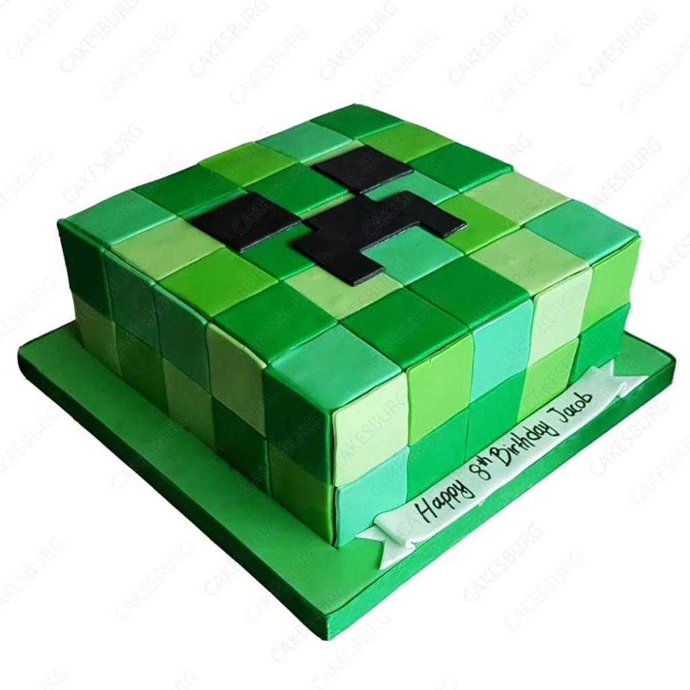 Minecraft Cake Google Search Minecraft Cake Minecraft Creeper Cake
