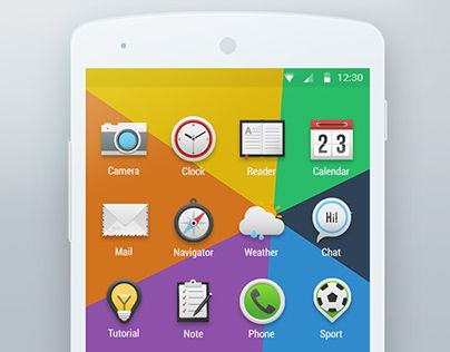 Icons For Android Launcher Android, Icon, Website design