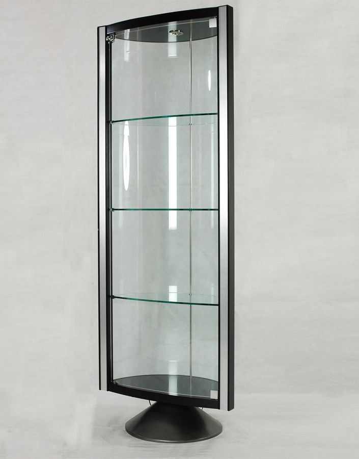 chintaly imports half round glass curio in 2019 home remodel rh pinterest com