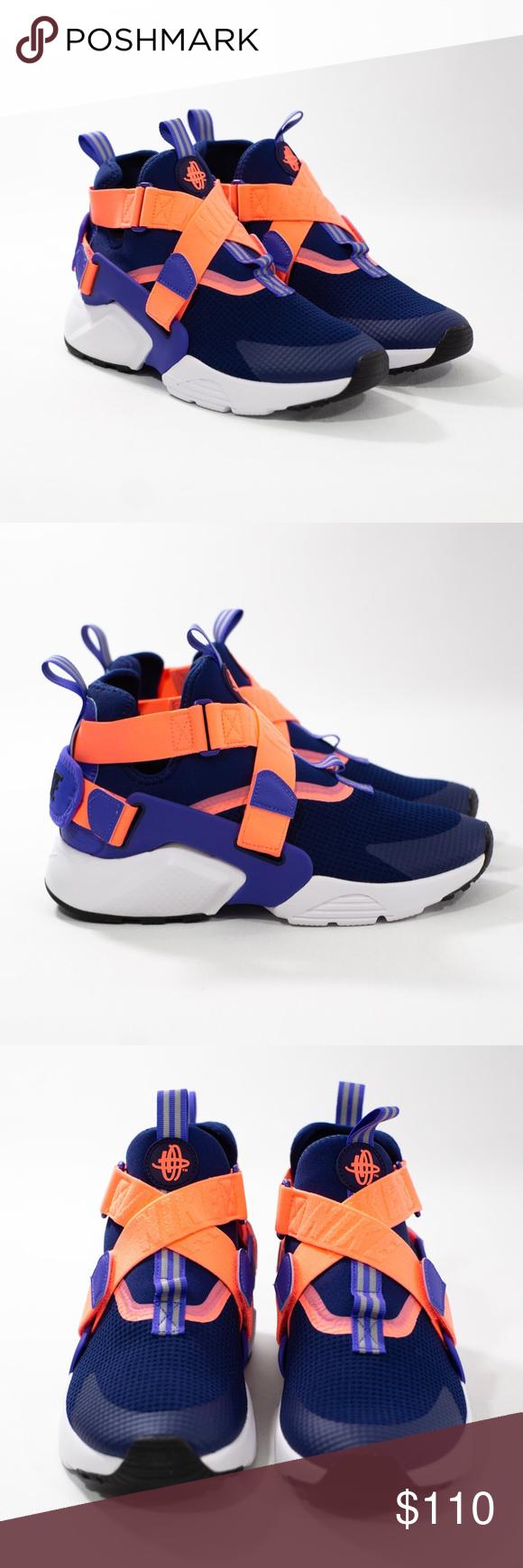 GS Youth sneakers AJ6662 403 Multiple sizes Nike Huarache City