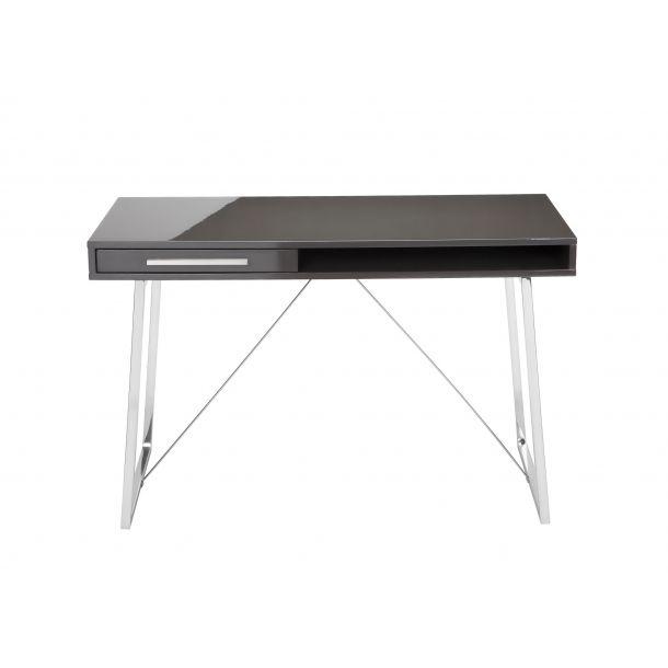 savina desk grey lacquer memoky com office desks desk writing rh pinterest co uk