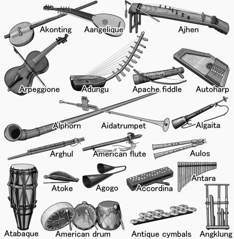 World musical instruments: A ... world musical instruments   music ...