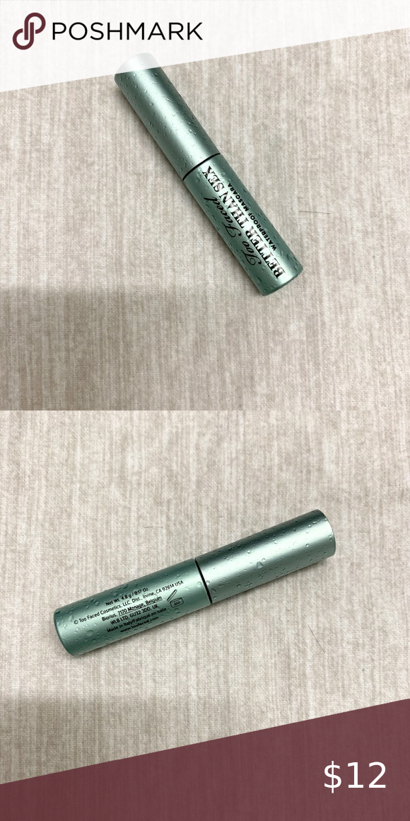 Check out this listing I just found on Poshmark: 3/$25 Too Faced Better Than Sex Mascara. #shopmycloset #poshmark #shopping #style #pinitforlater #Too Faced #Other