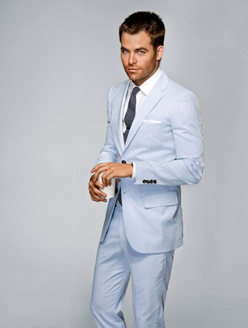 Thinking 'bout summer suits... | What guys should wear | Pinterest ...