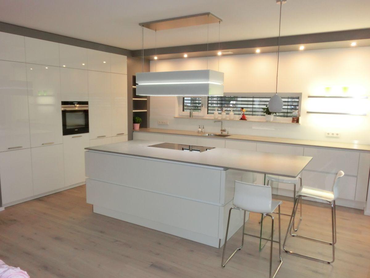 Bildergebnis für küche weiß hochglanz | küche | Pinterest