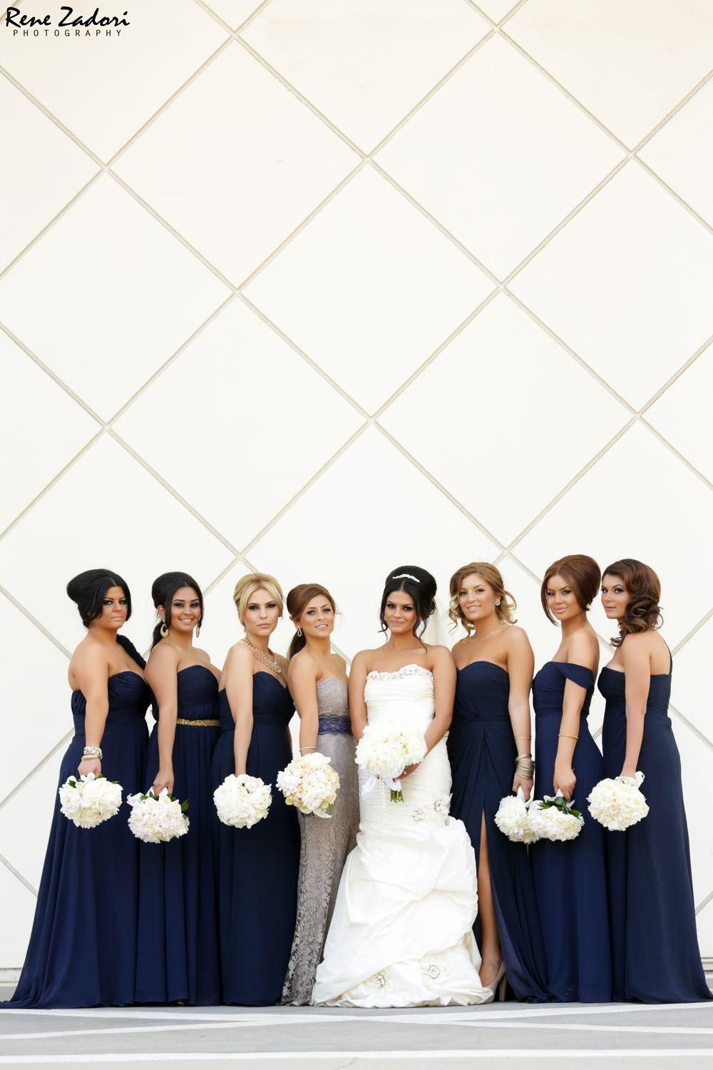 Navy bridesmaid dresses myweddinginvite weddinginvitations