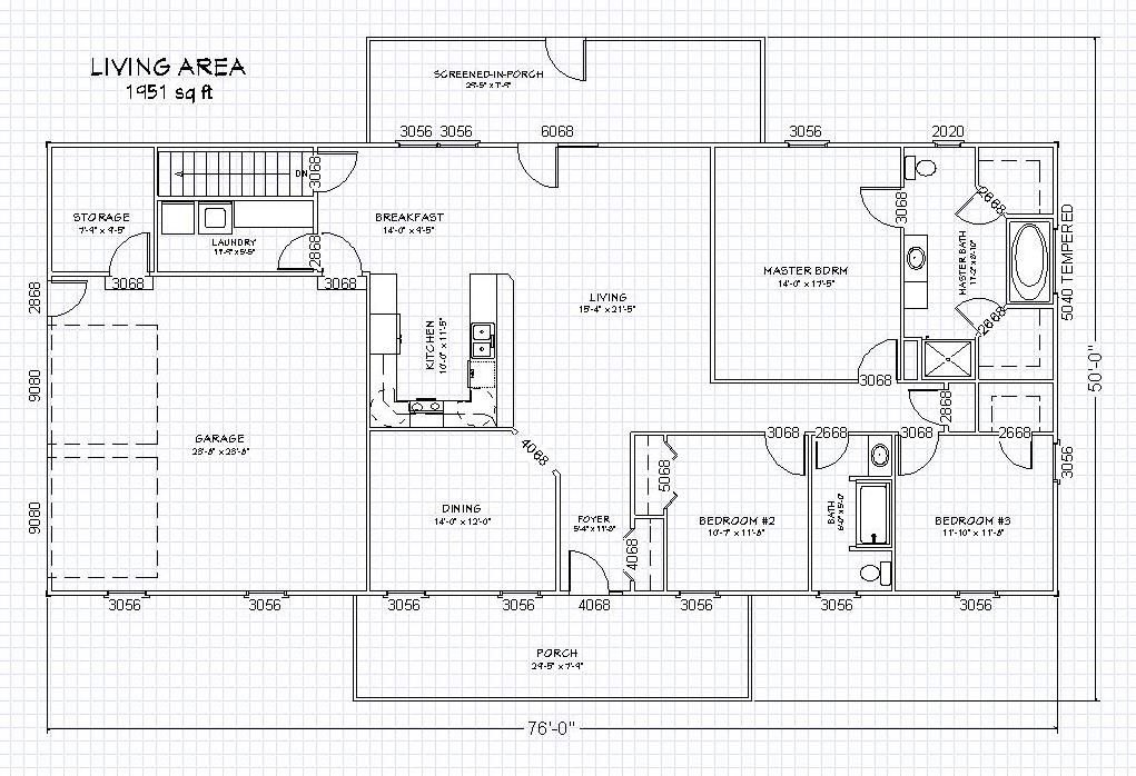 Open Floor Home Plans Ranch House Floor Plans Floor Plans Ranch Free House Plans
