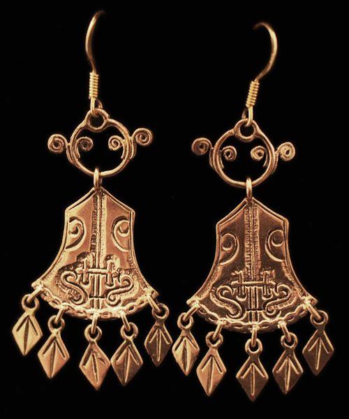 Viking Earrings Viking Jewelry Vikings Medieval Jewelry