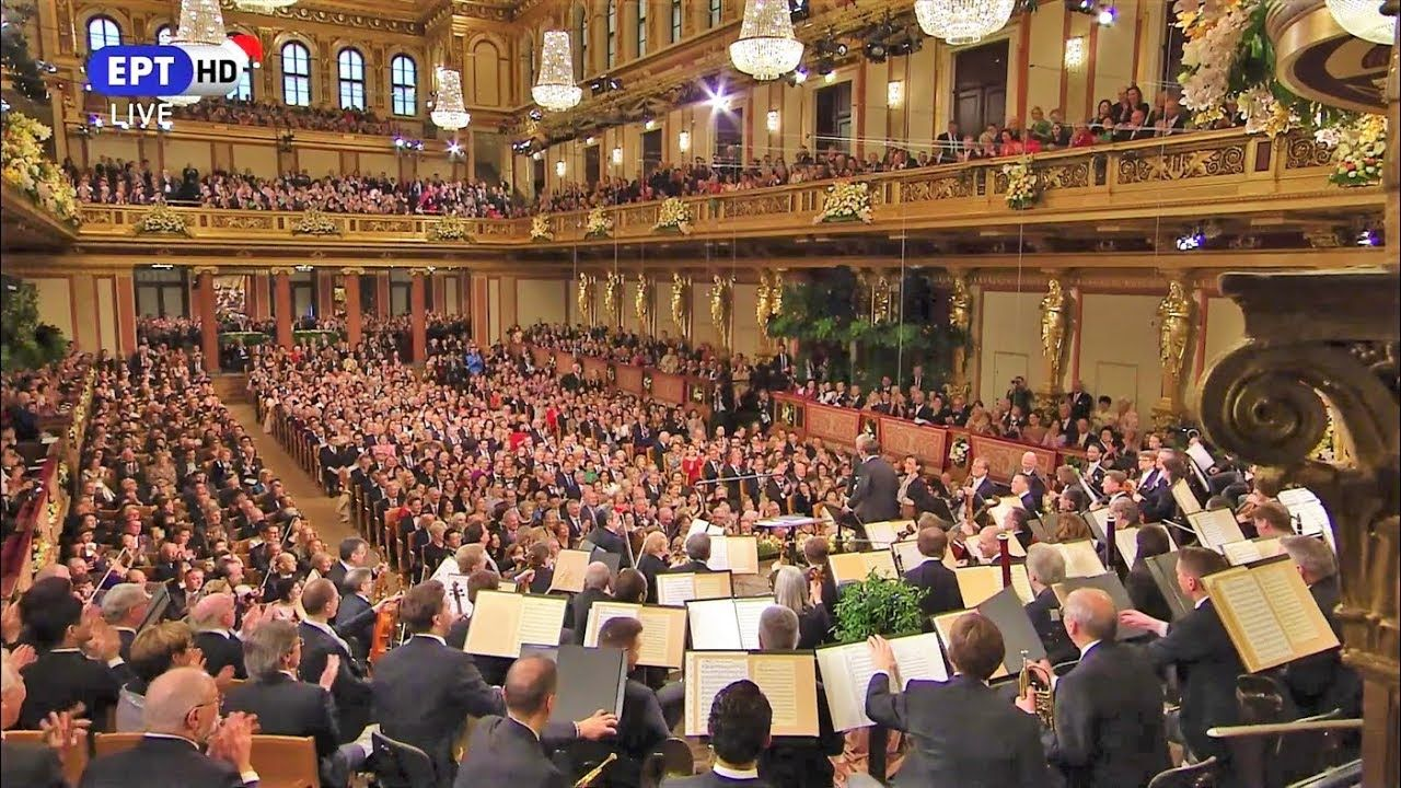 2019 New Year's Concert Vienna Philharmonic Orchestra
