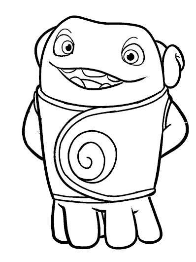 HOME-dreamworks movie | COLORING PAGES | Pinterest | Drawings ...
