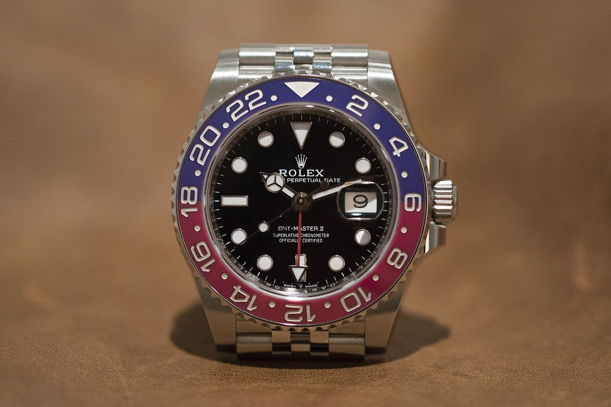 2eb38bee3a0 First Take  The Rolex GMT-Master II In Stainless Steel (VIDEO ...