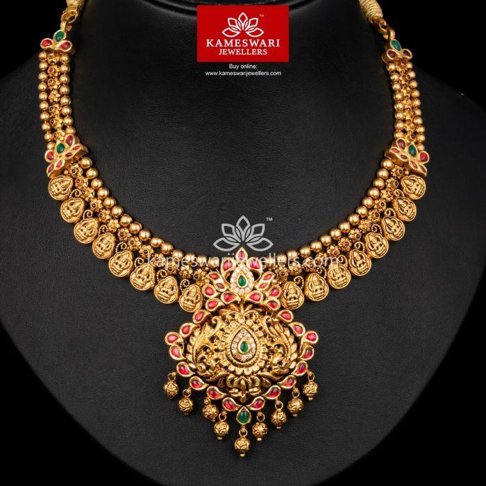 Gold Necklace Women Antique