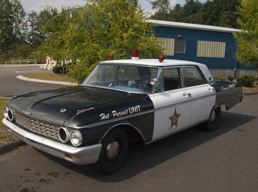 1962 Ford Police Car Jpm Entertainment Old