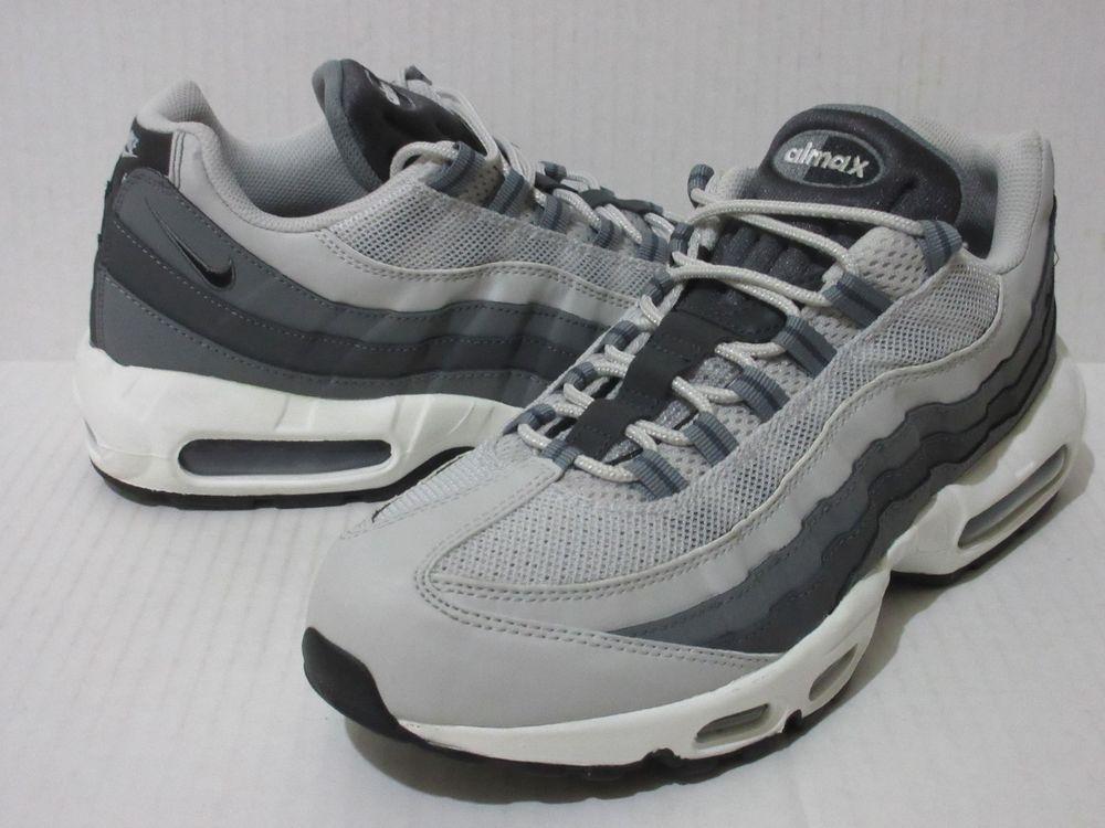 a824c3c540d Nike Air Max 95 Men s Sz.12 Neutral Grey Black 609048 085  Nike ...