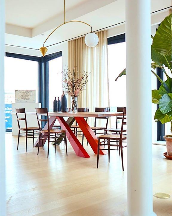 BONALDO: BIG TABLE #design Alain Gilles valgte for this luxe loft ...
