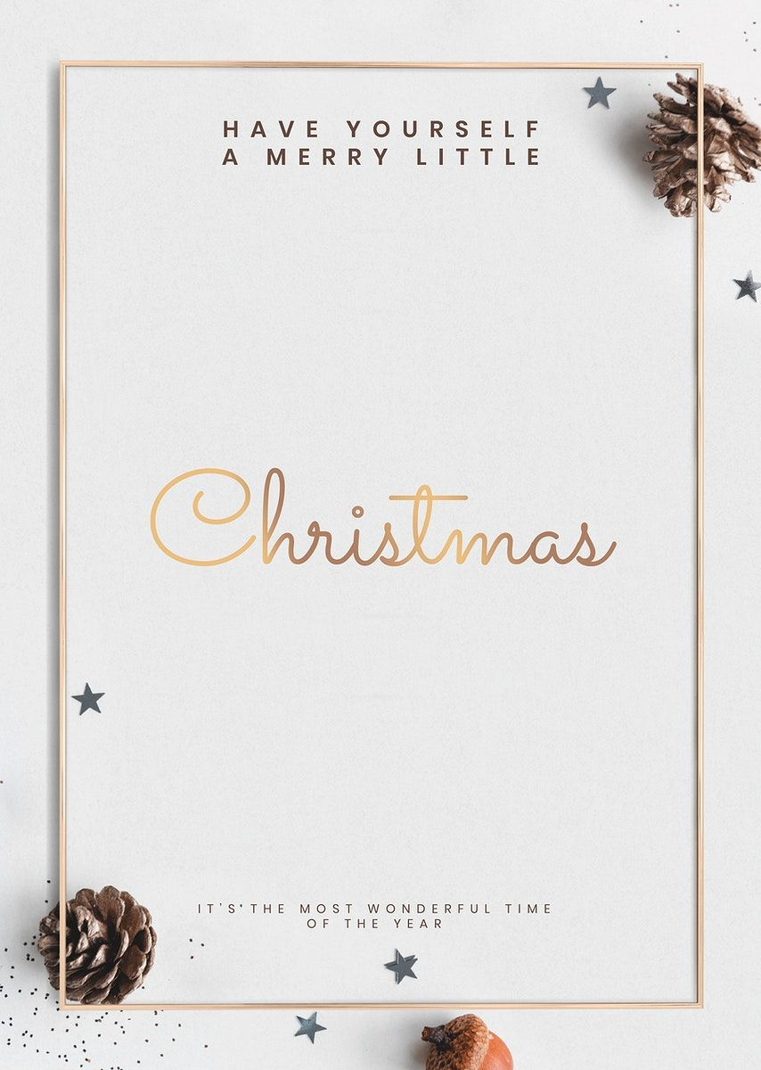 Download Premium Illustration Of Christmas Greeting Poster Template Psd Greeting Card Template Christmas Greeting Card Template Greeting Poster