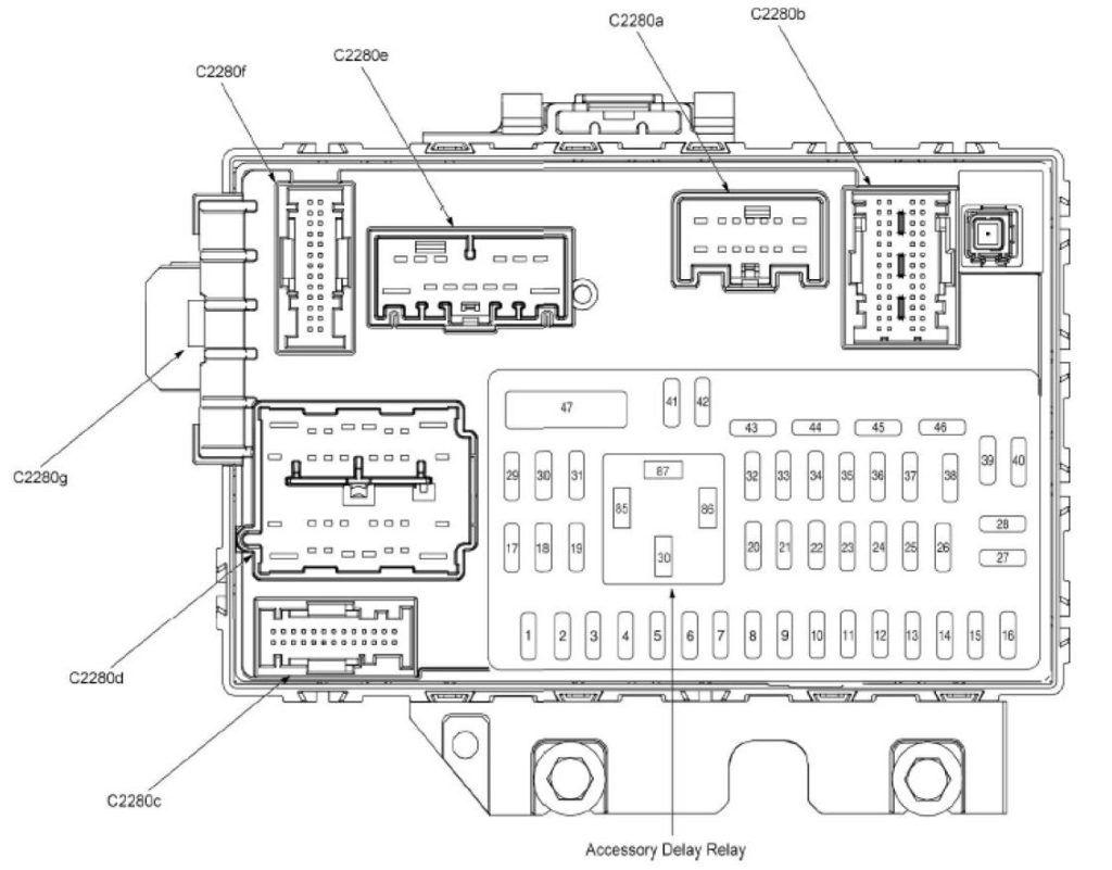 2008 Ford Escape Fuse Diagram In 2020