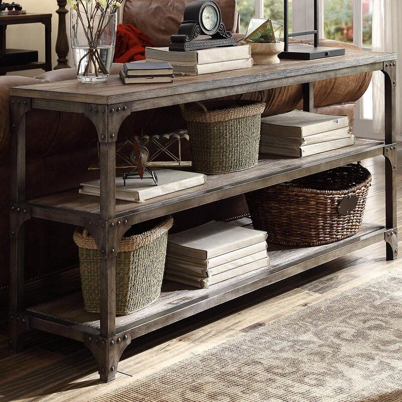 Killeen Console Table In 2020 Wooden Console Table Console