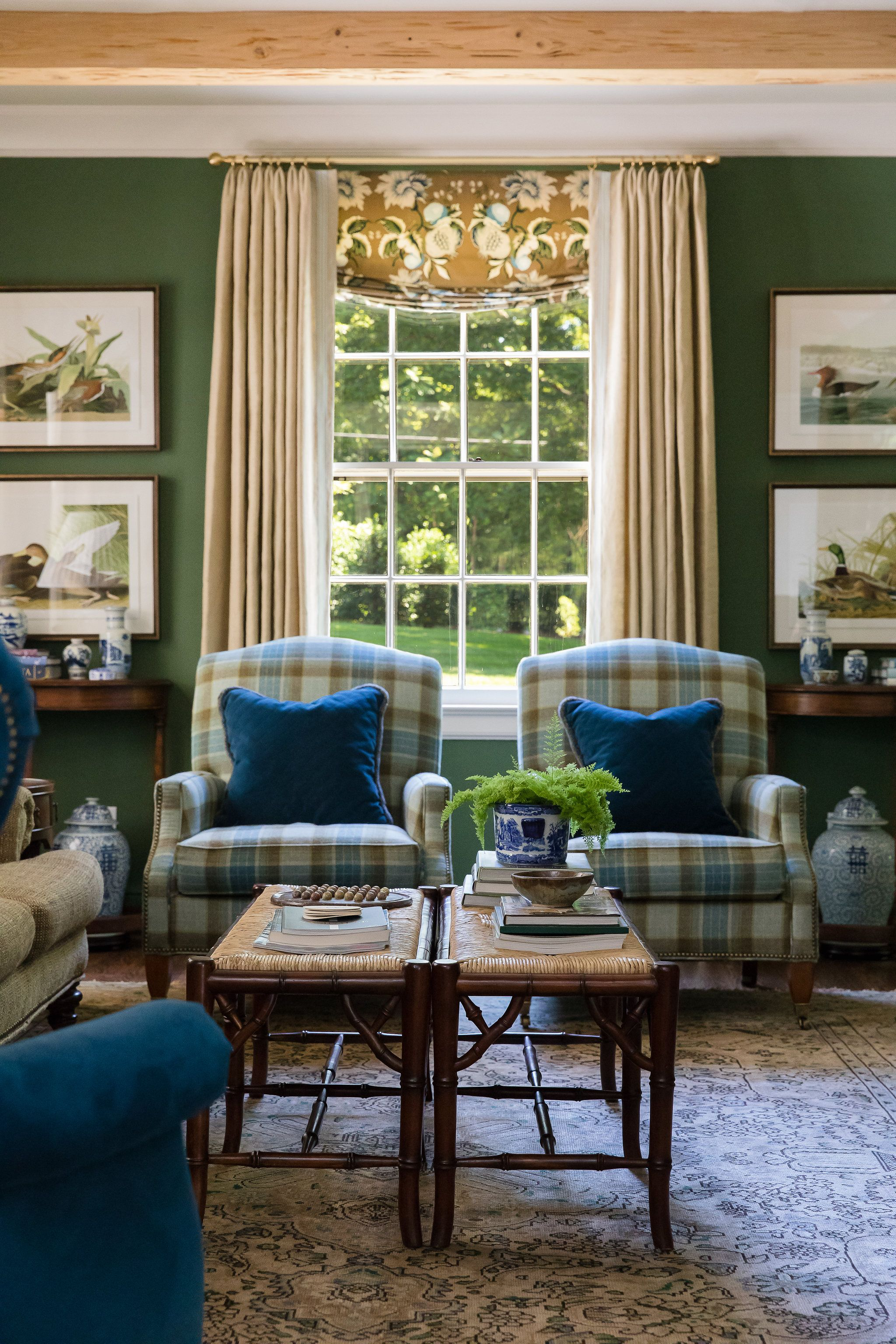 Cozy Southern Living Room Living Room Green Home Decor House Interior Southern living room decor