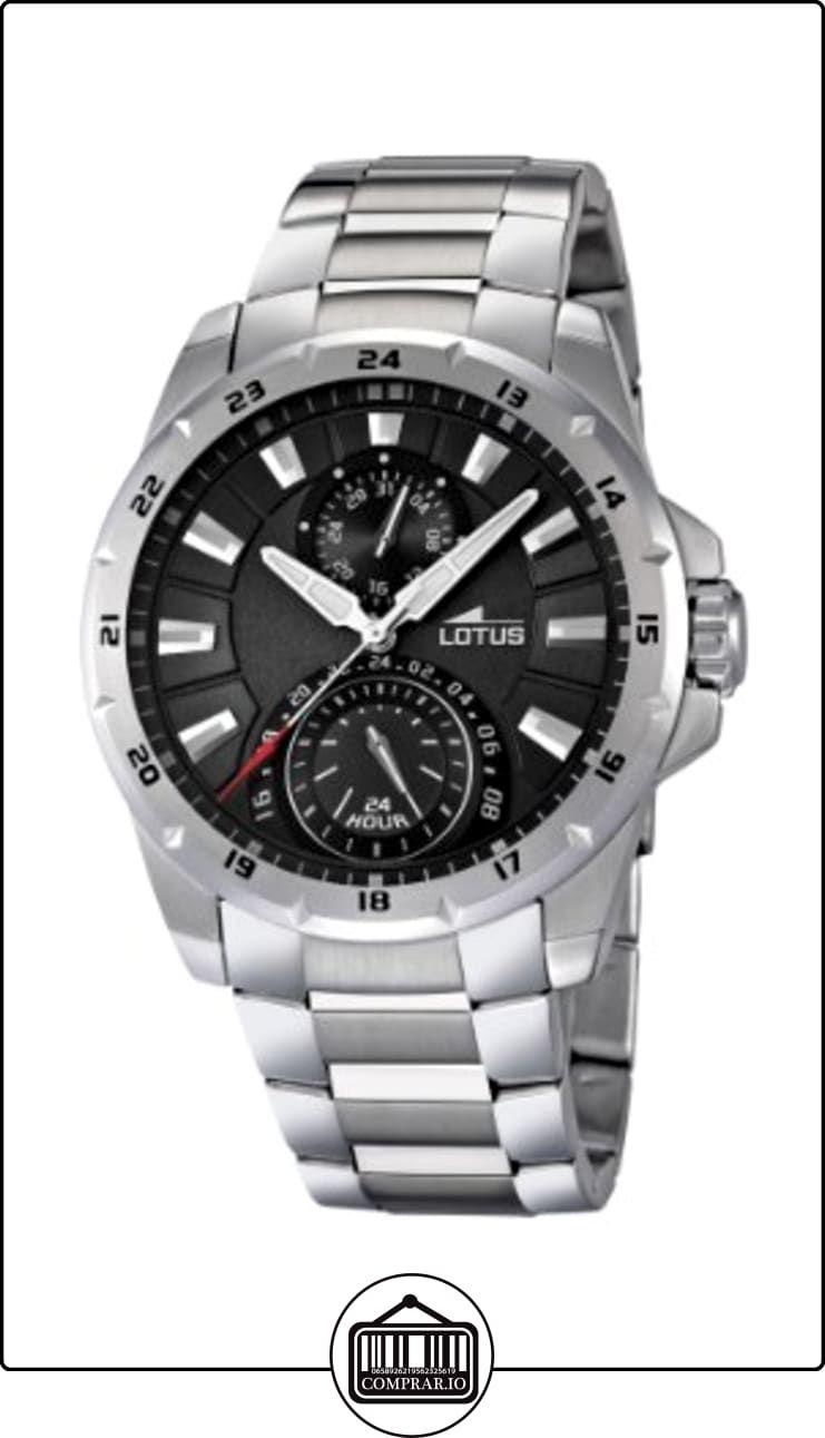 c67346fb1bb6 Lotus 15843 4 - Reloj analógico de cuarzo para hombre