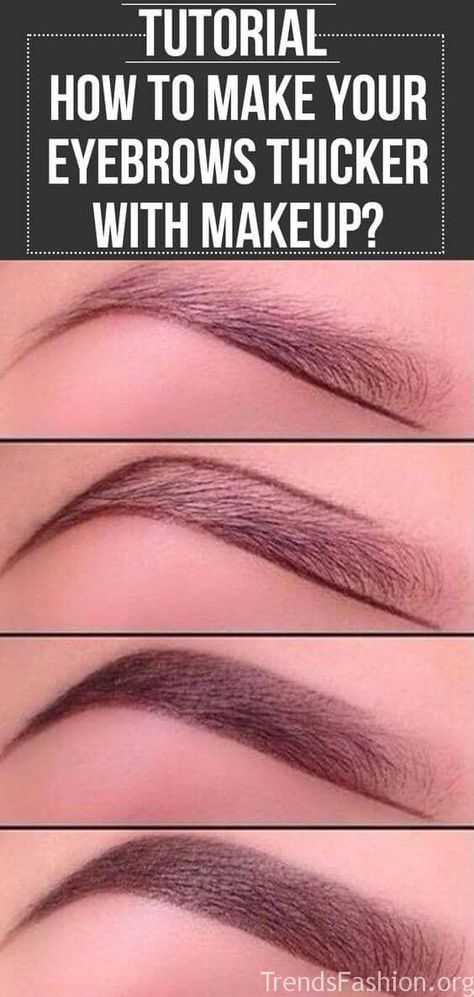 20+ Step-By-Step Eyebrows Tutorials To P - Makeup Tutorials