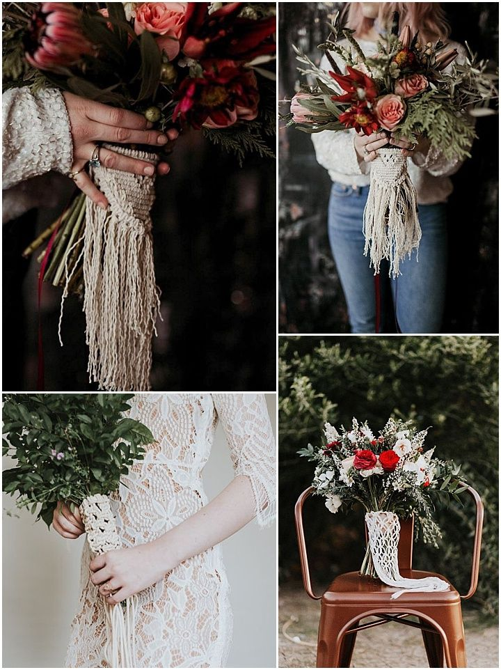 Ideas and Inspiration for your Boho Macramé Theme Wedding #decorationevent