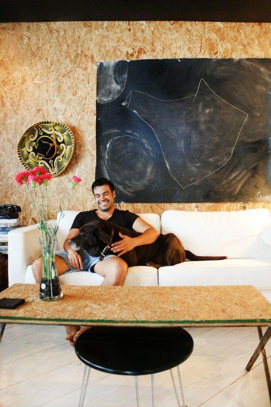 osb platten innenausbau wandverkleidung kaffeetisch madeira osb pinterest wandverkleidung. Black Bedroom Furniture Sets. Home Design Ideas