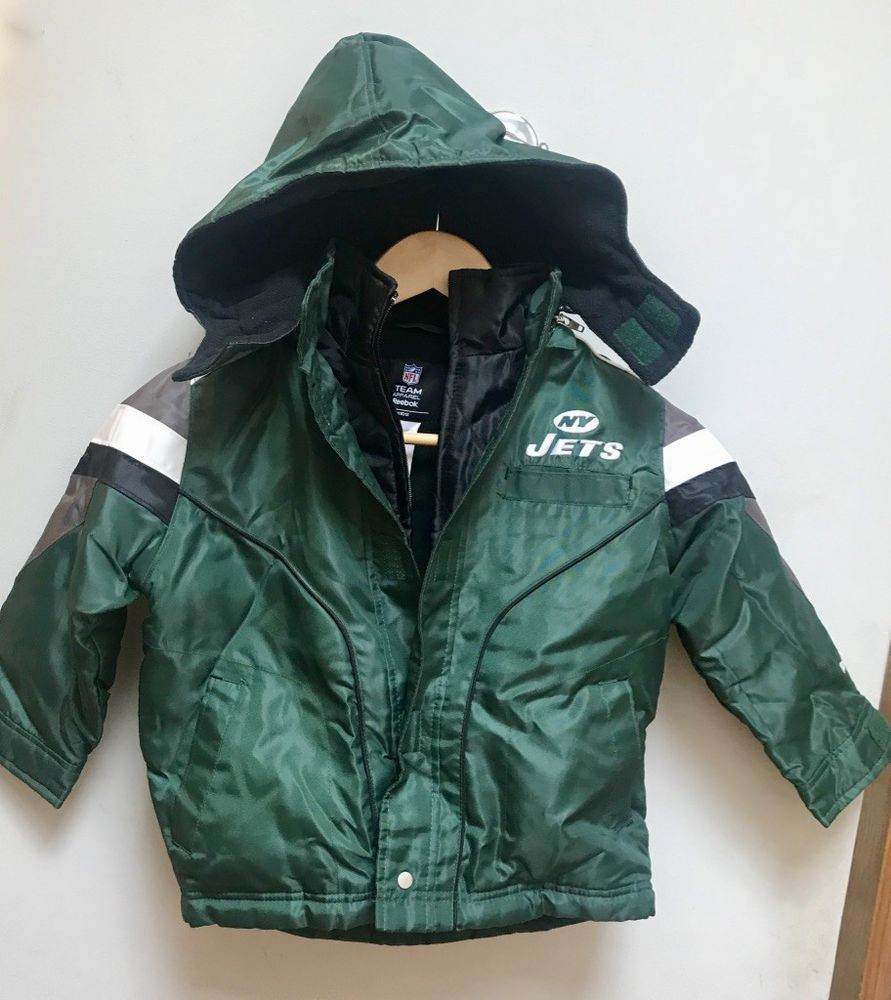detailed look 53b81 6a0e6 Reebok NFL team apparel Youth Winter Jacket NY Jets ,Size 4T ...