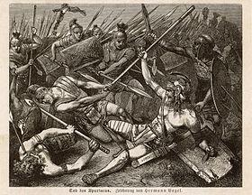 """Résultat de recherche d'images pour """"La Mort de Spartacus. Hermann Vogel, 1888."""""""
