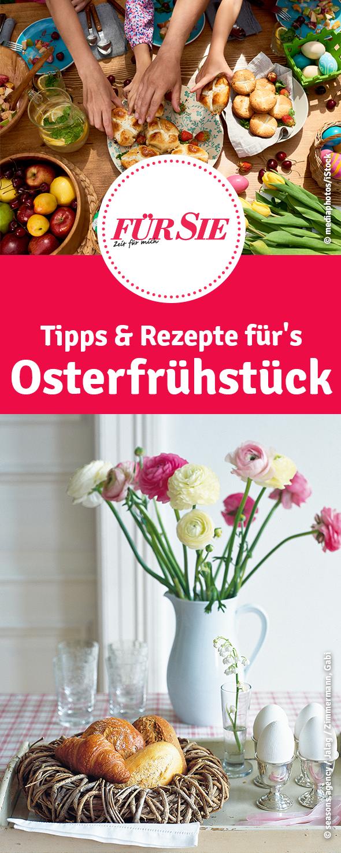 Tipps & Rezepte für's Osterfrühstück