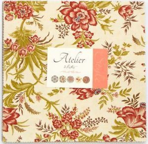 ATELIER by 3 Sisters for Moda Fabric Romantic Collection