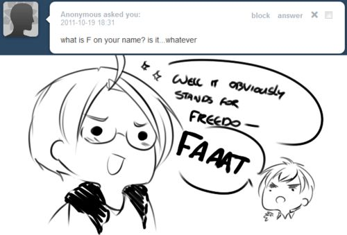 LOLOLOL xD hetalia America answering questions and England telling it like it is