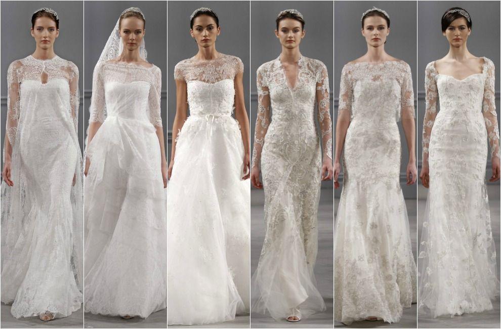 Tendencias 2014: Vestidos de novia con detalles de encaje | Detalle ...
