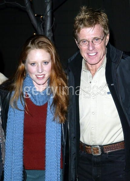 Robert Redford And Daughter Amy Amy Redford Paul Newman