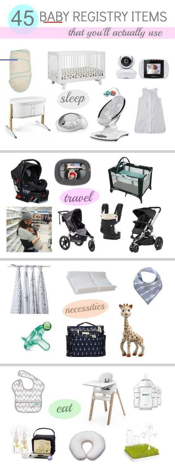 45 BABY REGISTRY MUST HAVES - Katie Did What A ...