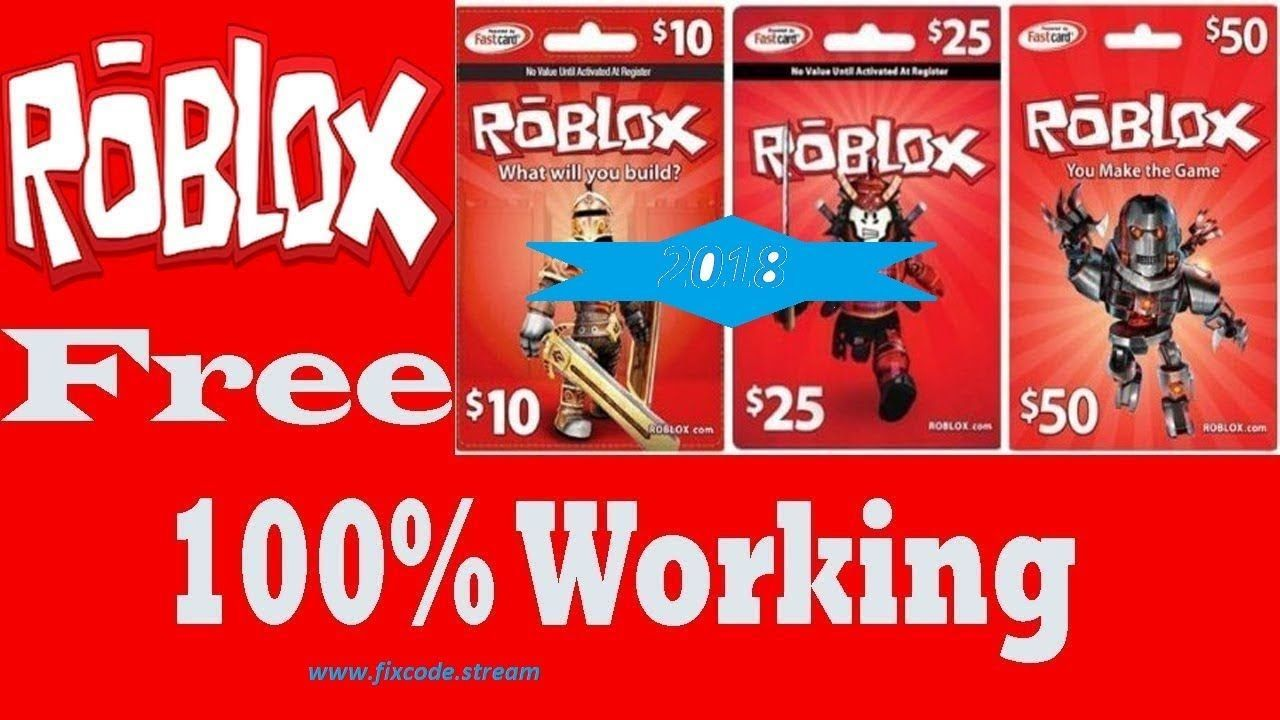 Robux Gift Card Generator No Survey