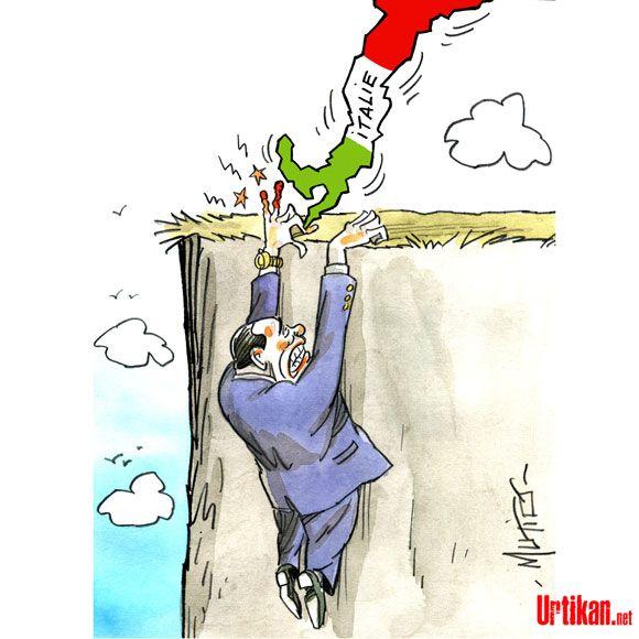 Arrivederci, Silvio Berlusconi ! - Dessin du jour - Urtikan.net