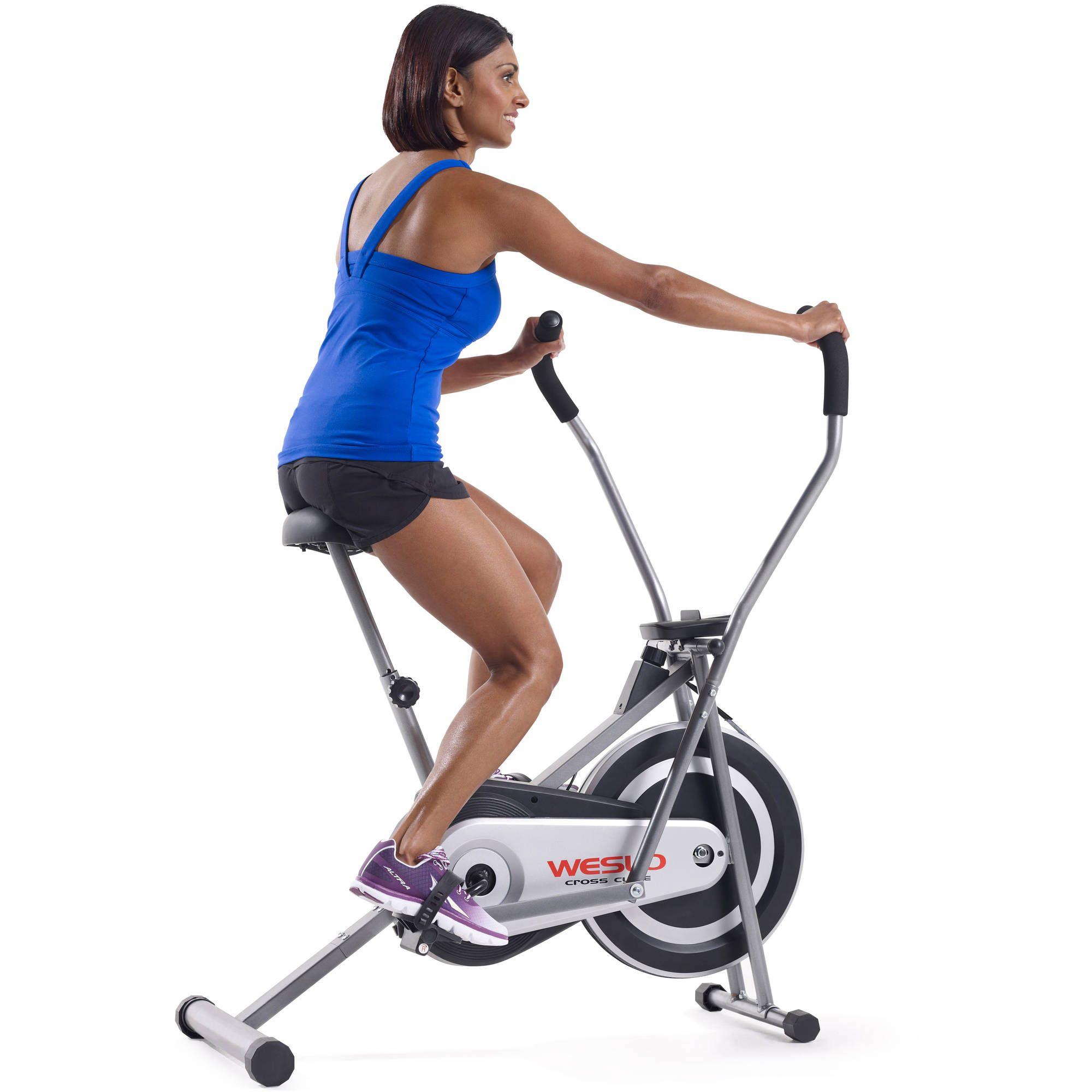 Weslo Cross Cycle Upright Exercise Bike Indoor Cycling Exercise Bicycle Cardio
