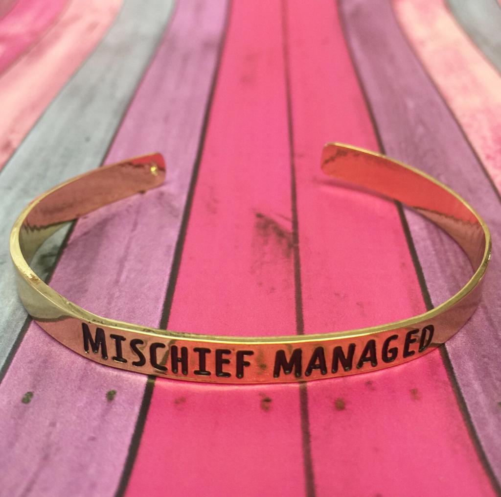 CUFF Mischief Gold