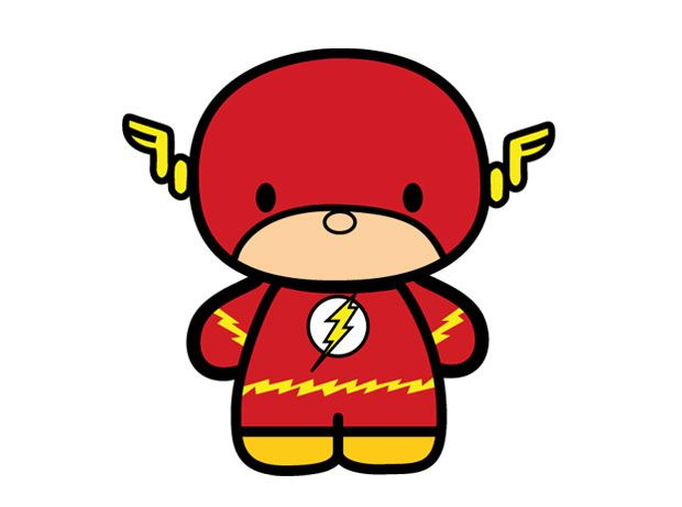 Little Flash   Superhero pictures, Baby cartoon, Drawing ...