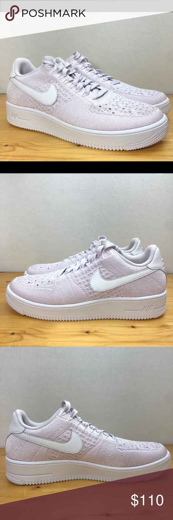 f609bf64c9de2 Nike Air Force 1 Ultra Flyknit Light Violet Size 8 Nike Air Force 1 Ultra  Flyknit