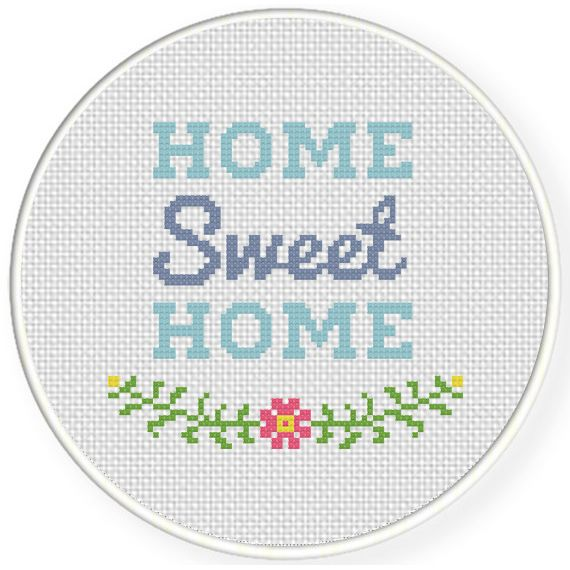 Charts Club Members Only Sweet Home Cross Stitch Pattern Dikis