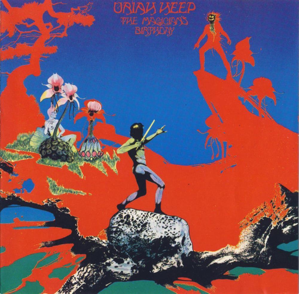 Uriah Heepthe Magician S Birthday Album Cover Car 225 Tulas