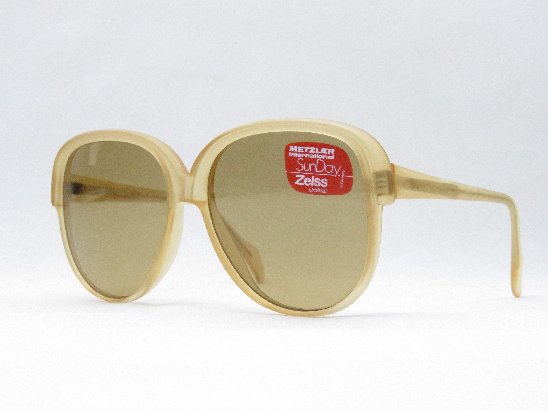 Original Vintage Metzler Zeiss Umbral Sonnenbrille Mod 1138 70er
