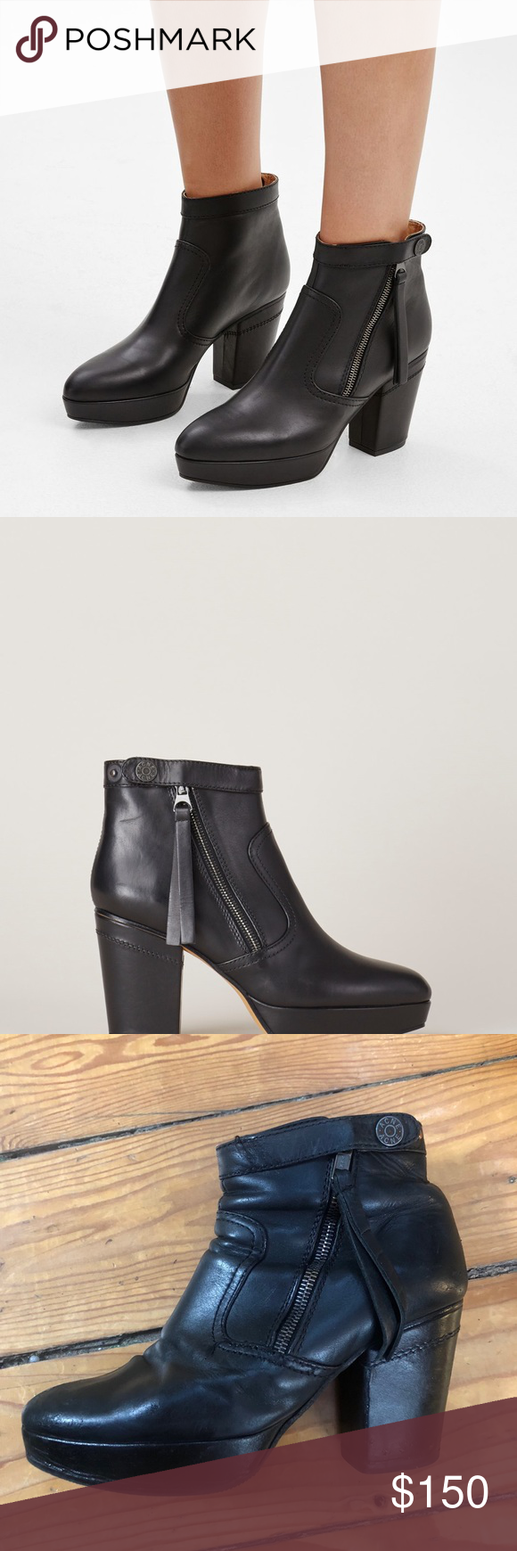 625cccb97620 Acne Studios Black Track Boot In good condition. Has a brand new sole, some  wear to the leather, and one button replaced (you can t tell the difference  from ...