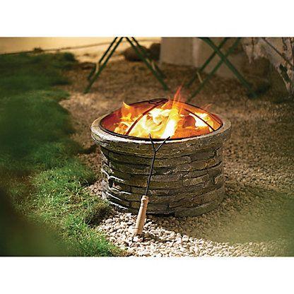 Feuerstelle Bricks, rund Pinterest Landscaping and Gardens