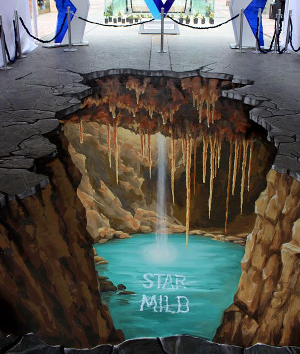 The 5 Most Talented 3D Sidewalk Artists